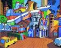 1974 - Giochi  Ravenna - 100 x 80