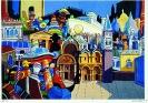 1984 - Giochi Carnevale di Venezia - 100 x80