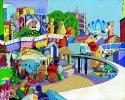 1985 - Giochi Mondo di Parmalat - 100x80