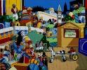 2003 - Giochi Ippica - 100x90